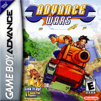 GBA - Advance Wars (Cartridge Only)