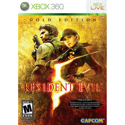 X360 - Resident Evil 5 Gold Edition (No Codes)