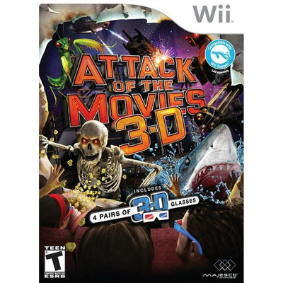 WII - Attack of the Movies 3D - PUGCanada