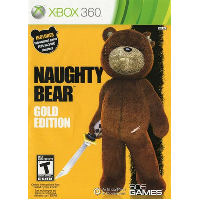 X360 - Naughty Bear Gold Edition
