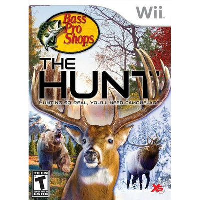 WII - Bass Pro Shops - The Hunt - PUGCanada