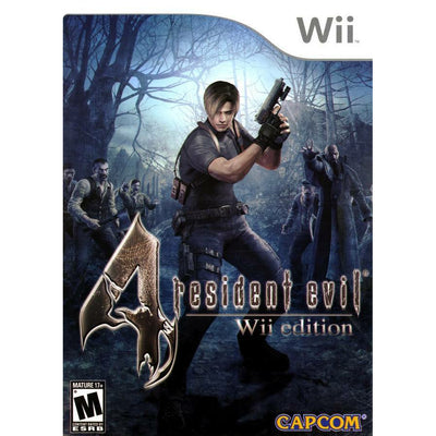 WII - Resident Evil 4 - Wii Edition - PUGCanada