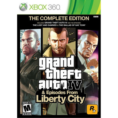 X360 - Grand Theft Auto IV & Episodes from Liberty City (The Complete Edition) - PUGCanada