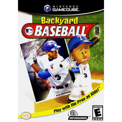 GC - Backyard Baseball (Printed Cover Art) - PUGCanada