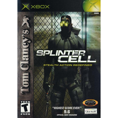 XBOX   Tom Clancy s Splinter Cell   PUGCanada