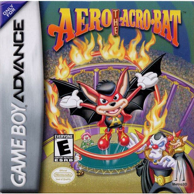 GBA - Aero the Acro-Bat (Cartridge Only)