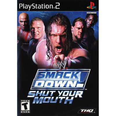 PS2 - WWE Smackdown Vs Raw Shut Your Mouth (Greatest Hits) - PUGCanada