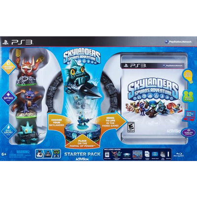 PS3 - Skylanders Spyro's Adventure Bundle - PUGCanada