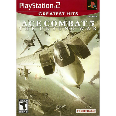 PS2 - Ace Combat 5 : The Unsung War (Greatest Hits) - PUGCanada