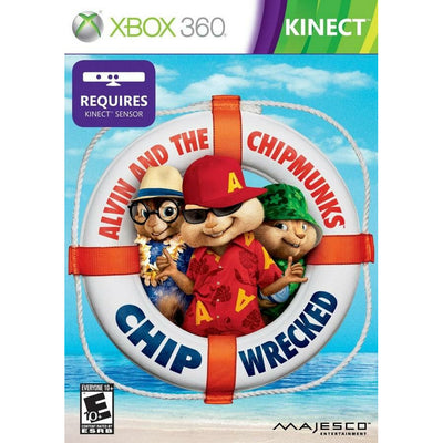X360 - Alvin and the Chipmunks Chipwrecked