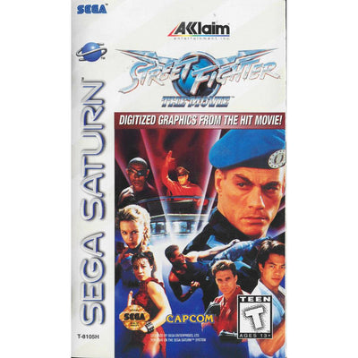 SATURN - Street Fighter The Movie (Printed Cover Art) (No Manual) - PUGCanada