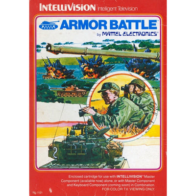 Intellivision - Armor Battle - PUGCanada