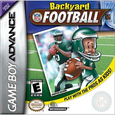GBA - Backyard Football (Cartridge Only) - PUGCanada