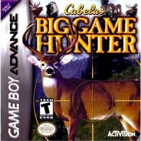 GameBoy Advance - Cabela's Big Game Hunter