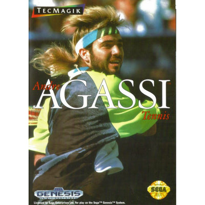 Genesis - Andre Agassi Tennis (Cartridge Only)