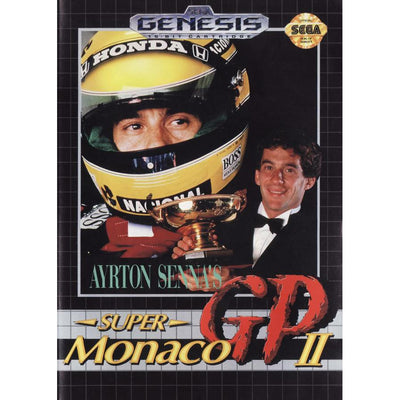 Genesis - Ayrton Senna's Super Monaco GP II (In Case)(W/Manual) - PUGCanada