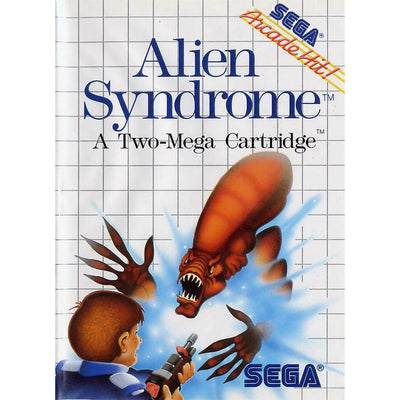 Master System - Alien Syndrome (In Case)