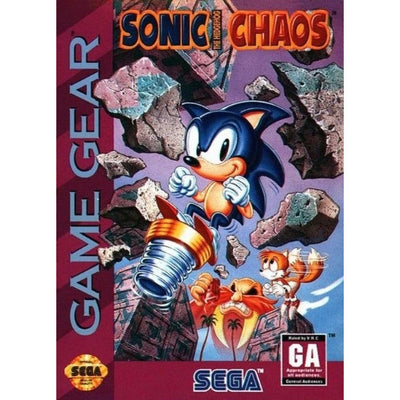 GameGear - Sonic The Hedgehog Chaos