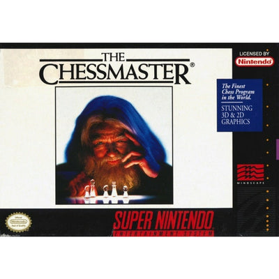 SNES - The ChessMaster (Complete in Box)
