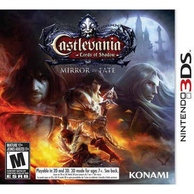 3DS - Castlevania Lords of Shadow Mirror of Fate (In Case)