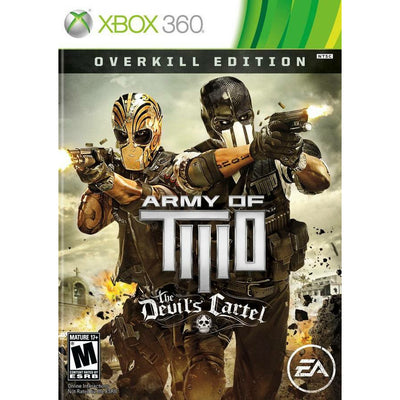 X360 - Army of Two - The Devil's Cartel (Overkill Edition) - PUGCanada
