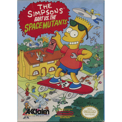 NES - The Simpsons Bart vs the Space Mutants