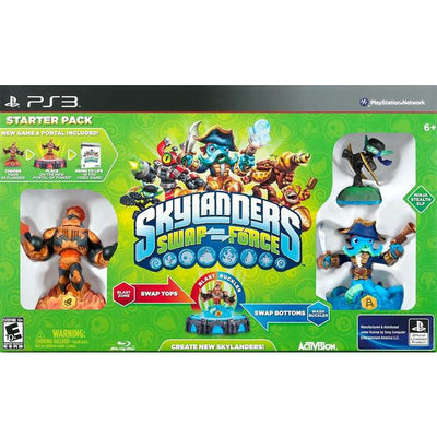 PS3 - Skylanders Swap Force Starter Pack (Complete in Box) - PUGCanada