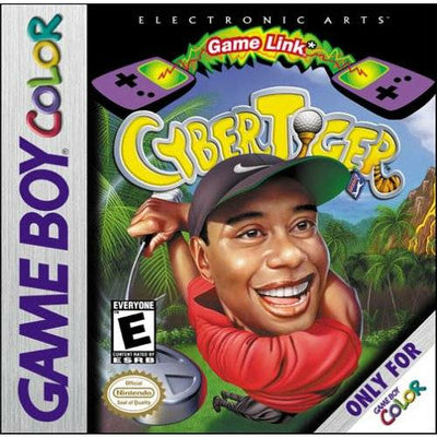 GBC - Cyber Tiger (Cartridge Only) - PUGCanada