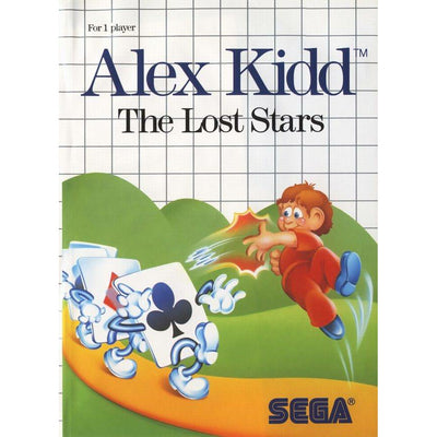 Master System - Alex Kidd The Lost Stars (In Case)