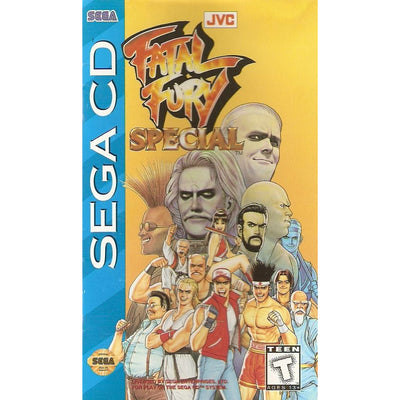 SEGA CD - Fatal Fury Special (w/Manual) - PUGCanada