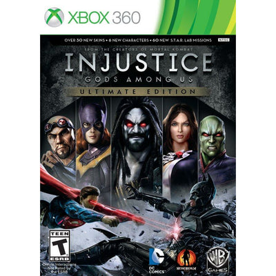 X360 - Injustice Gods Among Us Ultimate Edition