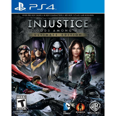 PS4 - Injustice Gods Among Us Ultimate Edition