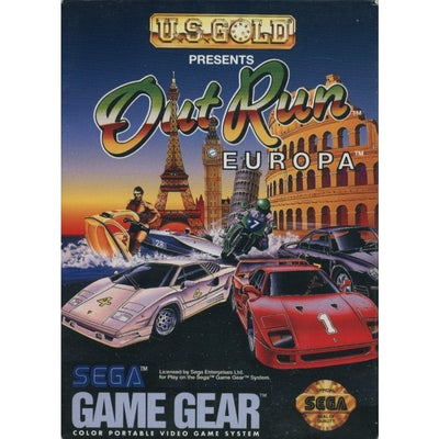 GameGear - Out Run Europa (Cartridge Only)