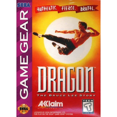 GameGear - Dragon The Bruce Lee Story - PUGCanada