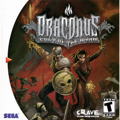 Dreamcast - Draconus: Cult of the wyrm (no manual, printed cover art) - PUGCanada