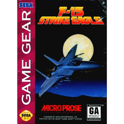 GameGear - F-15 Strike Eagle (Cartridge Only)