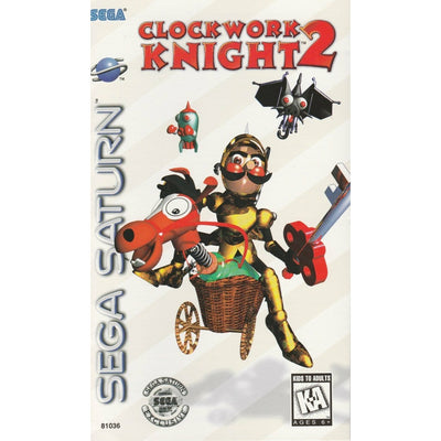 SATURN - Clockwork Knight 2 (Printed Cover Art) (No Manual) - PUGCanada