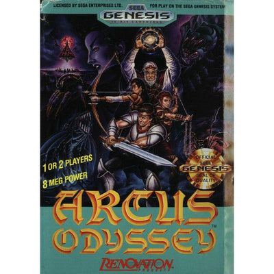 Genesis - Arcus Odyssey (In Case) (No Manual) - PUGCanada