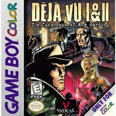 GBC - Deja Vu 1 and 2 (Cartridge Only) - PUGCanada