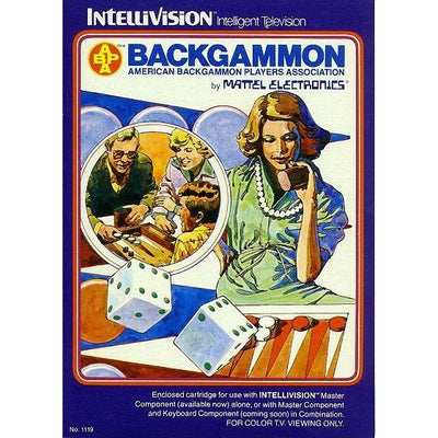 Intellivision - Backgammon - PUGCanada