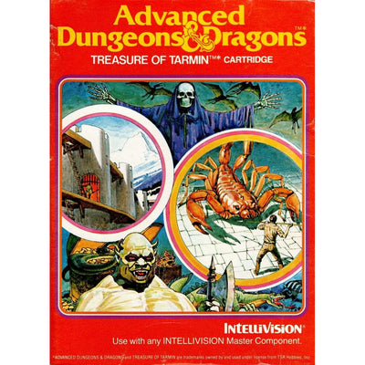 Intellivision - Advanced Dungeons & Dragons Treasure of Tarmin - PUGCanada