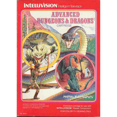 Intellivision - Advanced Dungeons & Dragons - PUGCanada