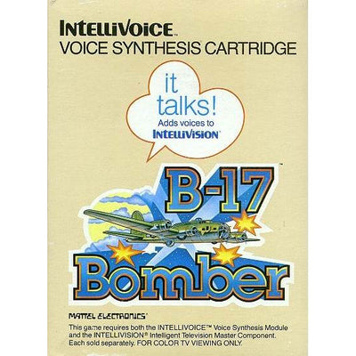 Intellivision - B-17 Bomber (Cartridge Only)