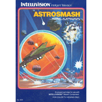 Intellivision - Astrosmash - PUGCanada