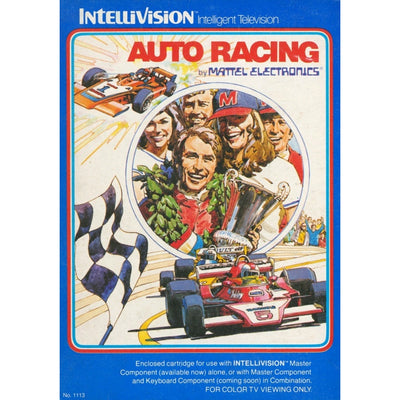 Intellivision - Auto Racing - PUGCanada