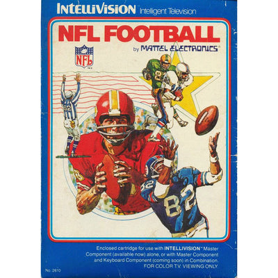 Intellivision - NFL Football (Cartridge Only)