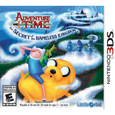 3DS - Adventure Time The Secret Nameless Kingdom (in case)