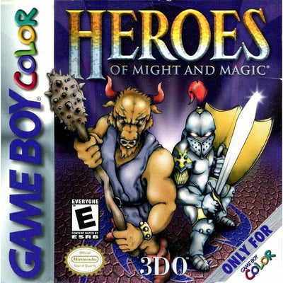 GBC - Heroes of Might and Magic - PUGCanada