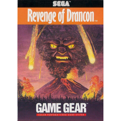 GameGear - BOX - Revenge of Drancon