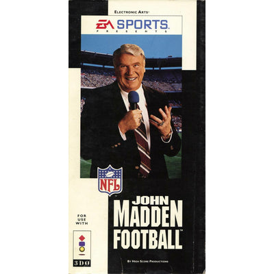 3DO - John Madden Football (Longbox)